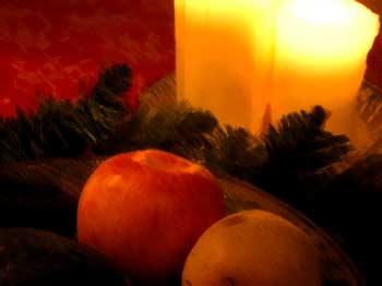 Christmasfruitandgreens