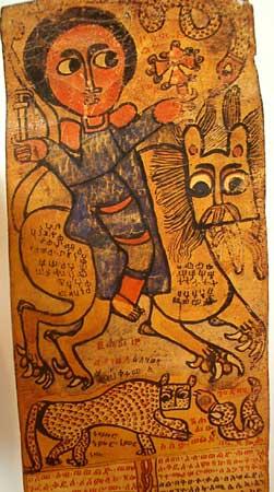 Samuel sur le lion